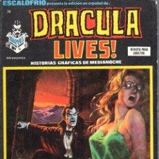 Cómics: ESCALOFRIO NUMERO 36 DRACULA LIVES. MUY BUEN ESTADO. Lote 197326825