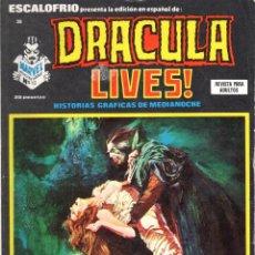 Cómics: ESCALOFRIO NUMERO 38 DRACULA LIVES. MUY BUEN ESTADO. Lote 197327011