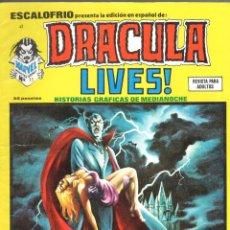 Cómics: ESCALOFRIO NUMERO 41 DRACULA LIVES. MUY BUEN ESTADO. Lote 197327277