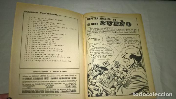 Cómics: COMIC vertice CAPITAN AMERICA Nº 24 el gran sueño - Foto 2 - 197373231