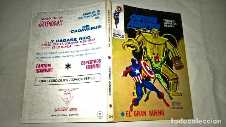 COMIC VERTICE CAPITAN AMERICA Nº 24 EL GRAN SUEÑO (Tebeos y Comics - Vértice - Vengadores)