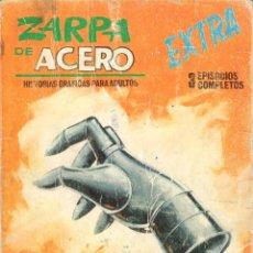 Cómics: ZARPA DE ACERO EXTRA NUMERO 1. VERTICE . ESTADO REGULAR. Lote 197407502