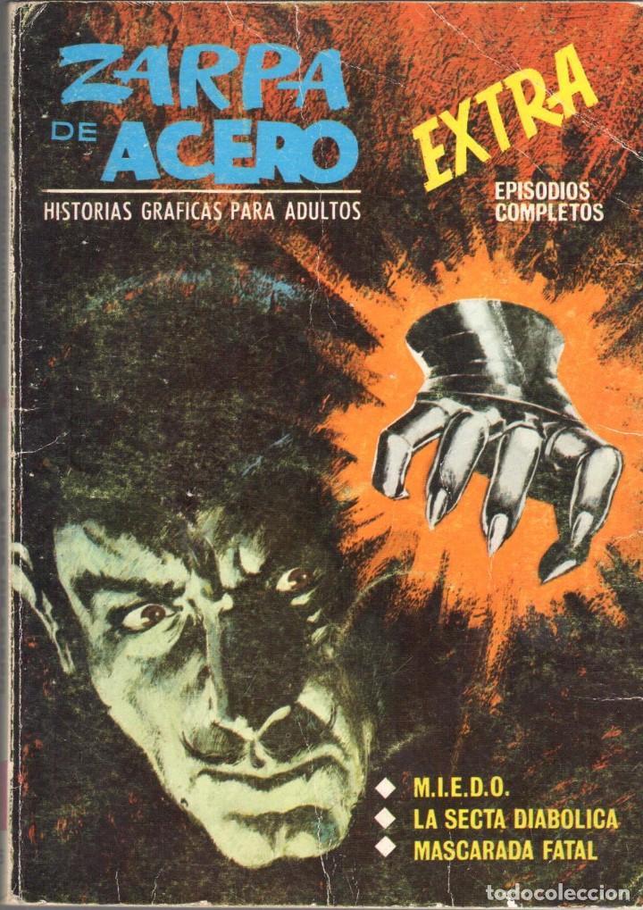 ZARPA DE ACERO EXTRA NUMERO 6. VERTICE . BUEN ESTADO (Tebeos y Comics - Vértice - Fleetway)