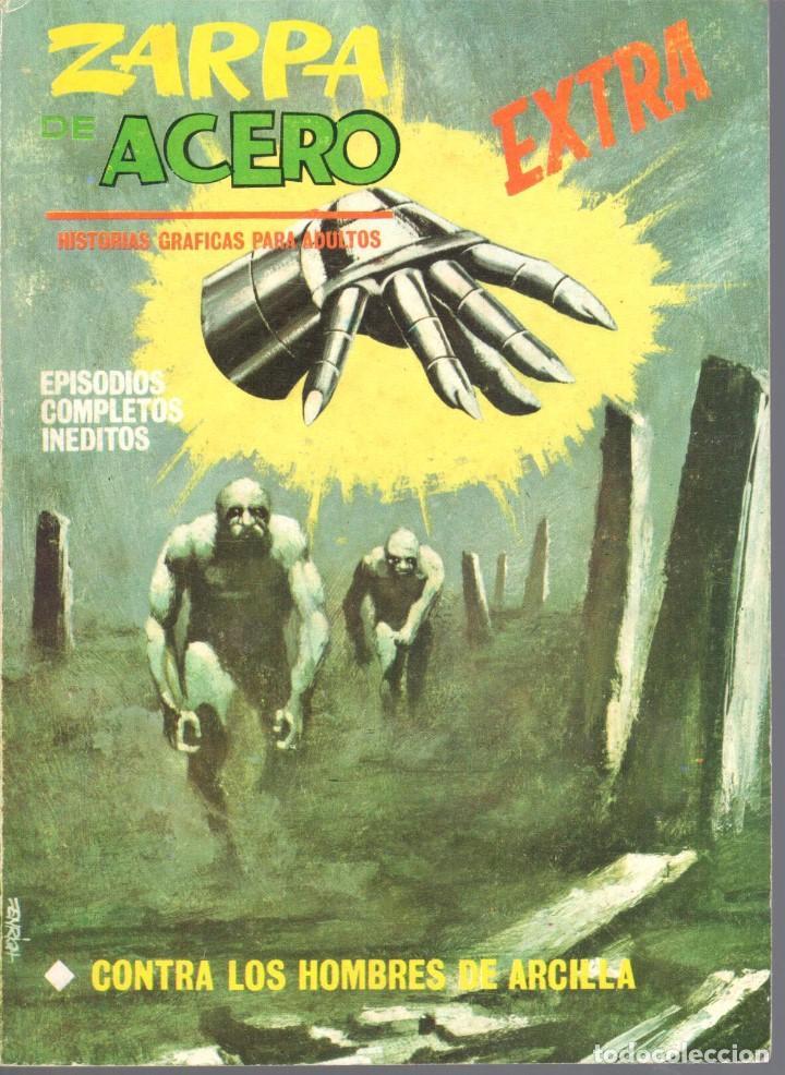 ZARPA DE ACERO EXTRA NUMERO 8. VERTICE . BUEN ESTADO (Tebeos y Comics - Vértice - Fleetway)