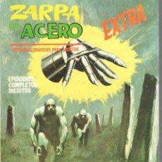 Cómics: ZARPA DE ACERO EXTRA NUMERO 8. VERTICE . BUEN ESTADO. Lote 197408720