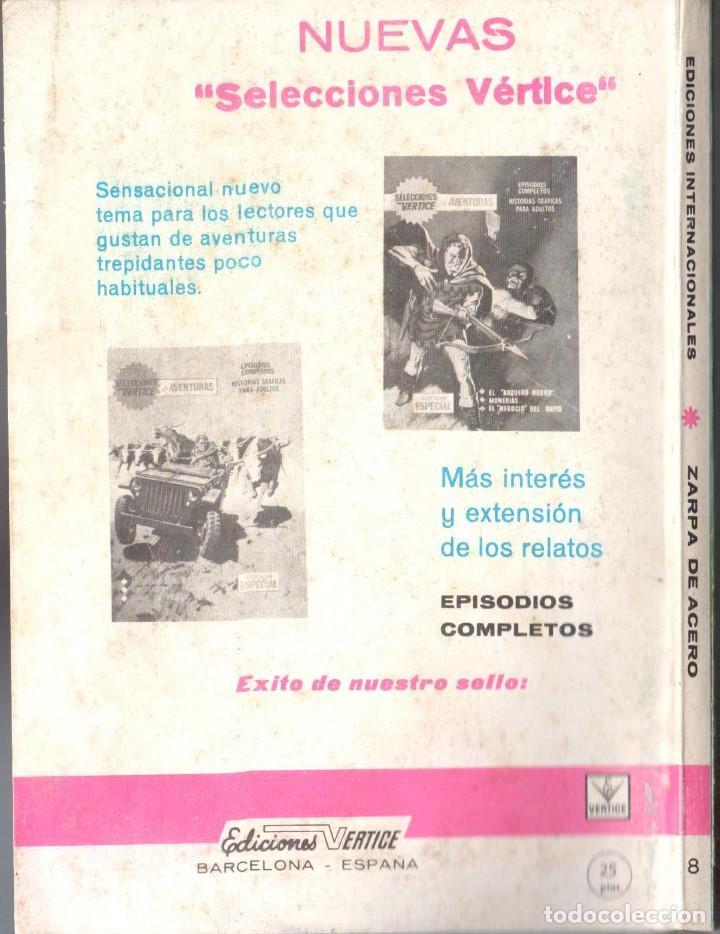 Cómics: ZARPA DE ACERO EXTRA NUMERO 8. VERTICE . BUEN ESTADO - Foto 2 - 197408720