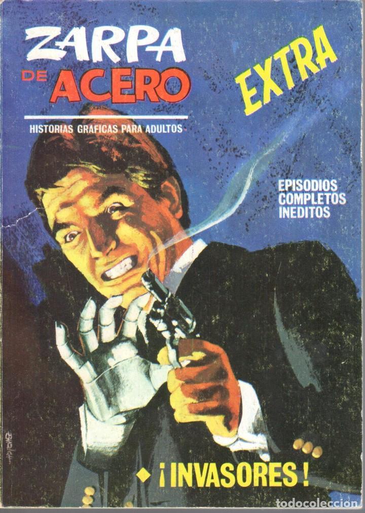 ZARPA DE ACERO EXTRA NUMERO 11. VERTICE . MUY BUEN ESTADO (Tebeos y Comics - Vértice - Fleetway)