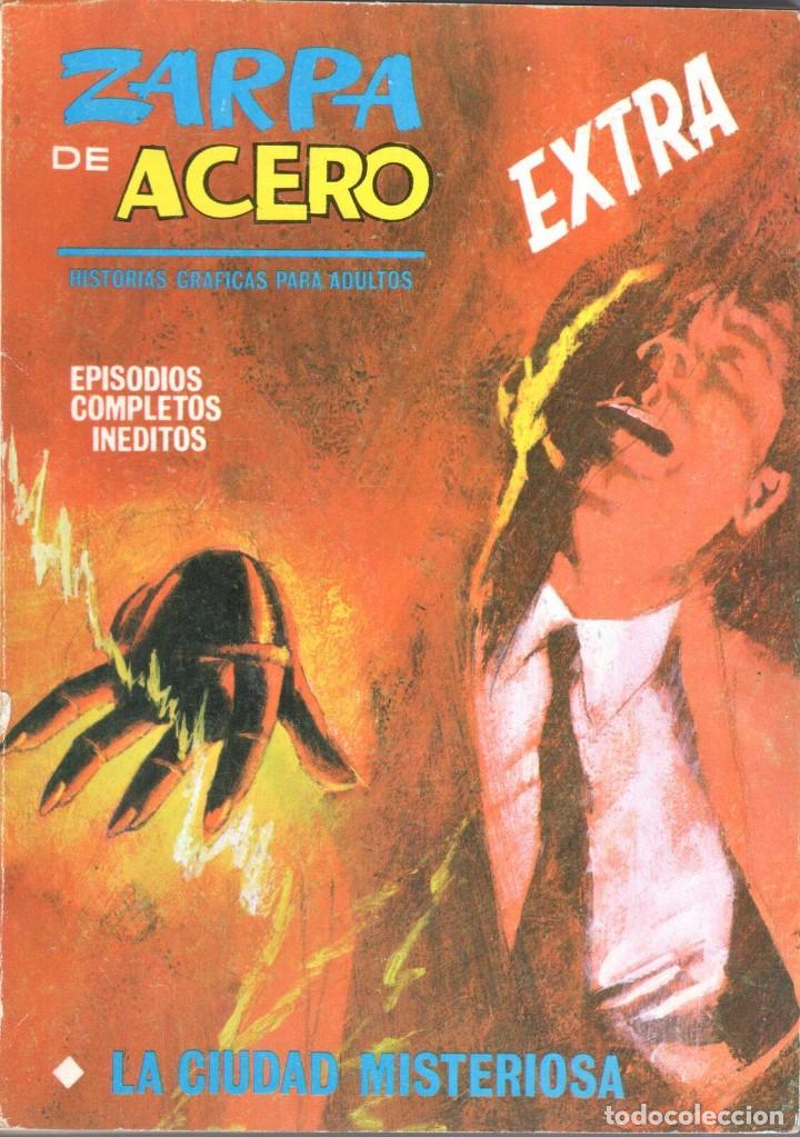 ZARPA DE ACERO EXTRA NUMERO 12. VERTICE . MUY BUEN ESTADO (Tebeos y Comics - Vértice - Fleetway)