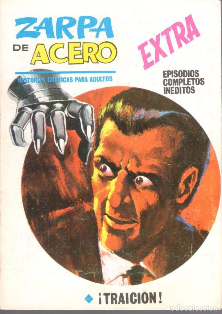 ZARPA DE ACERO EXTRA NUMERO 13. VERTICE . MUY BUEN ESTADO (Tebeos y Comics - Vértice - Fleetway)