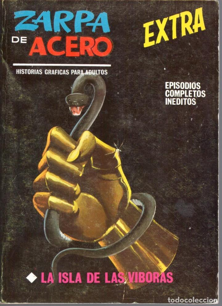ZARPA DE ACERO EXTRA NUMERO 19. VERTICE . BUEN ESTADO (Tebeos y Comics - Vértice - Fleetway)