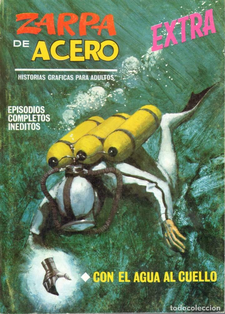 ZARPA DE ACERO EXTRA NUMERO 20. VERTICE . BUEN ESTADO (Tebeos y Comics - Vértice - Fleetway)