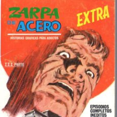 Cómics: ZARPA DE ACERO EXTRA NUMERO 25. VERTICE . MUY BUEN ESTADO. Lote 197411241