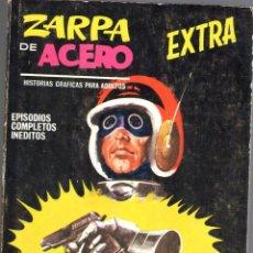 Cómics: ZARPA DE ACERO EXTRA NUMERO 27. VERTICE . MUY BUEN ESTADO. Lote 197411443