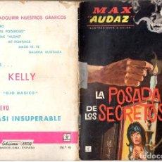 Cómics: MAX AUDAZ GRAPA NUMERO 6 VERTICE.. Lote 197415875