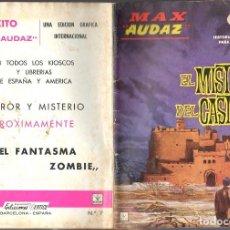 Cómics: MAX AUDAZ GRAPA NUMERO 7 VERTICE.. Lote 197416072