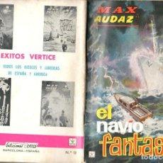 Cómics: MAX AUDAZ GRAPA NUMERO 9 VERTICE.. Lote 197416227