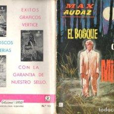 Cómics: MAX AUDAZ GRAPA NUMERO 10 VERTICE.. Lote 197416271