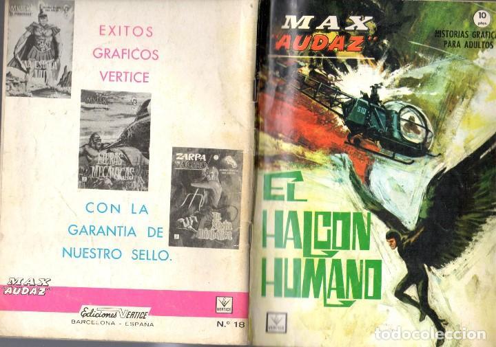 MAX AUDAZ GRAPA NUMERO 18 VERTICE. (Tebeos y Comics - Vértice - Fleetway)