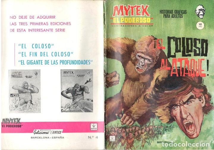 MYTEK EL PODEROSO. GRAPA. NUMERO 4 . VERTICE (Tebeos y Comics - Vértice - Fleetway)