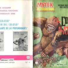 Cómics: MYTEX EL PODEROSO. GRAPA. NUMERO 4 . VERTICE. Lote 197418025