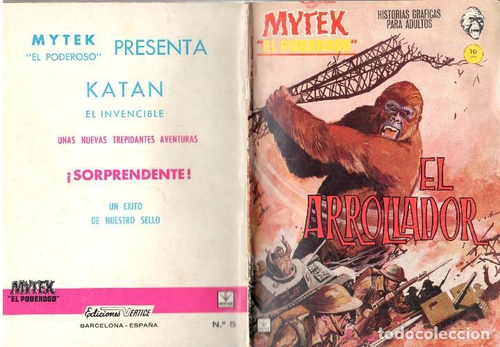 MYTEK EL PODEROSO. GRAPA. NUMERO 5 . VERTICE (Tebeos y Comics - Vértice - Fleetway)