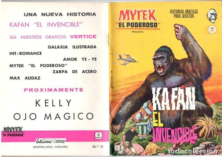 MYTEK EL PODEROSO. GRAPA. NUMERO 6 . VERTICE (Tebeos y Comics - Vértice - Fleetway)
