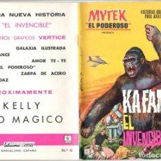 Cómics: MYTEX EL PODEROSO. GRAPA. NUMERO 6 . VERTICE. Lote 197418157