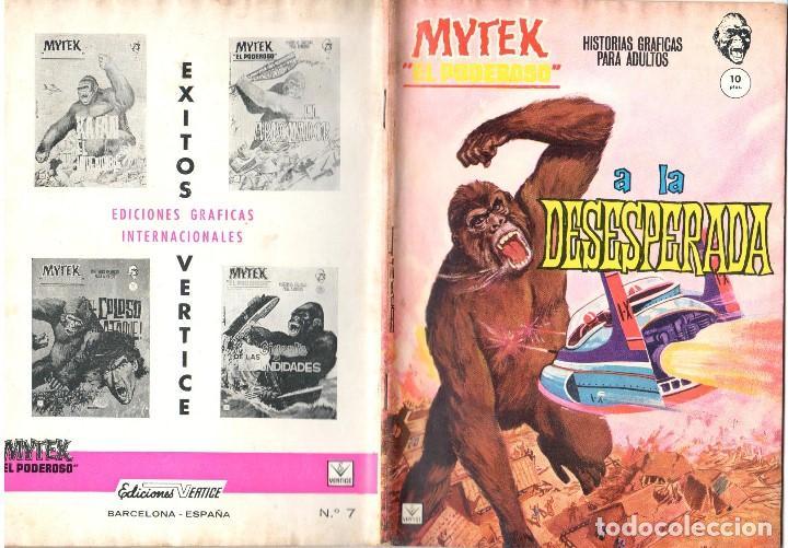 MYTEK EL PODEROSO. GRAPA. NUMERO 7 . VERTICE (Tebeos y Comics - Vértice - Fleetway)