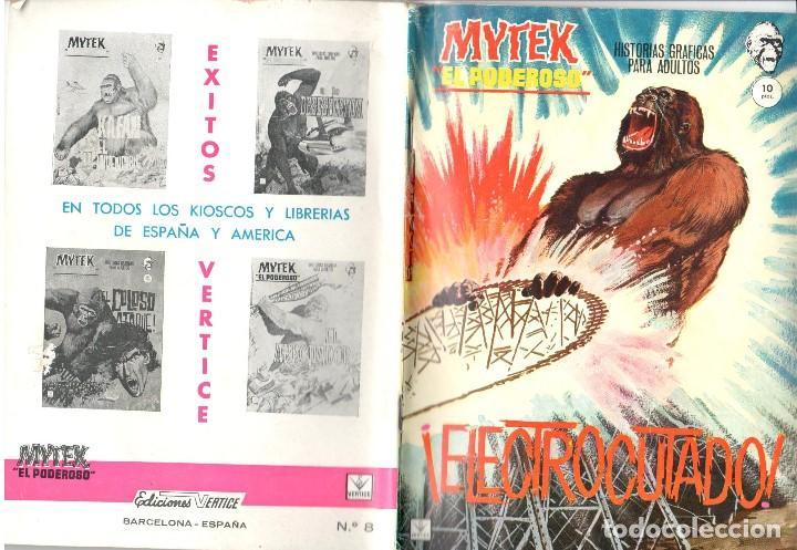 MYTEK EL PODEROSO. GRAPA. NUMERO 8 . VERTICE (Tebeos y Comics - Vértice - Fleetway)