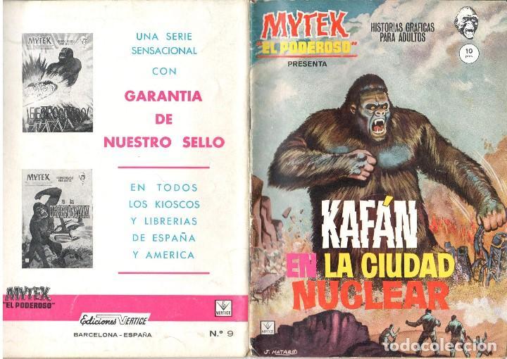 MYTEX EL PODEROSO. GRAPA. NUMERO 9 . VERTICE (Tebeos y Comics - Vértice - Fleetway)