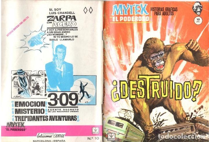 MYTEK EL PODEROSO. GRAPA. NUMERO 10 . VERTICE (Tebeos y Comics - Vértice - Fleetway)