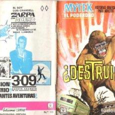 Cómics: MYTEX EL PODEROSO. GRAPA. NUMERO 10 . VERTICE. Lote 197418686