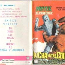 Comics : MYTEX EL PODEROSO. GRAPA. NUMERO 12 . VERTICE. Lote 197418830