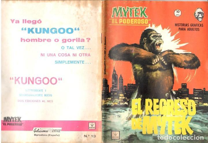 MYTEK EL PODEROSO. GRAPA. NUMERO 13 . VERTICE (Tebeos y Comics - Vértice - Fleetway)