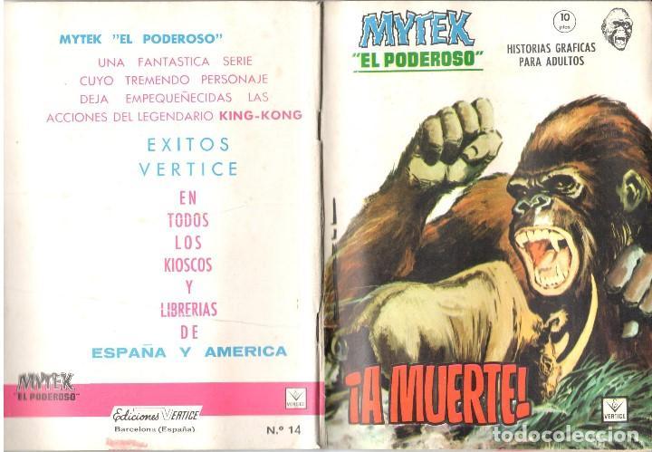 MYTEK EL PODEROSO. GRAPA. NUMERO 14 . VERTICE (Tebeos y Comics - Vértice - Fleetway)