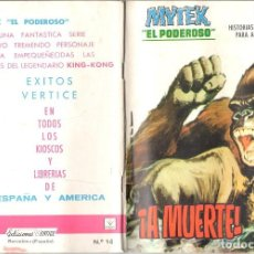 Cómics: MYTEK EL PODEROSO. GRAPA. NUMERO 14 . VERTICE. Lote 197419126