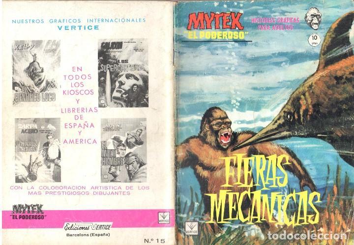 MYTEK EL PODEROSO. GRAPA. NUMERO 15 . VERTICE (Tebeos y Comics - Vértice - Fleetway)