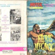 Cómics: MYTEX EL PODEROSO. GRAPA. NUMERO 15 . VERTICE. Lote 197419173