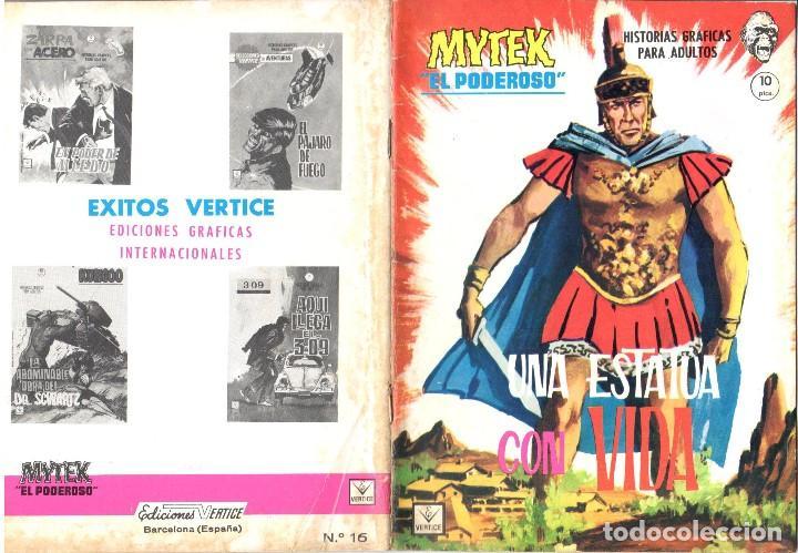 MYTEK EL PODEROSO. GRAPA. NUMERO 16 . VERTICE (Tebeos y Comics - Vértice - Fleetway)