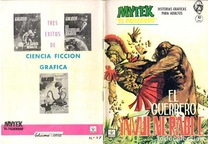 MYTEX EL PODEROSO. GRAPA. NUMERO 17 . VERTICE (Tebeos y Comics - Vértice - Fleetway)