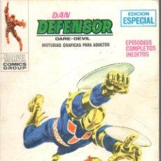 Cómics: DAN DEFENSOR VOLUMEN 1 NUMERO 10. VERTICE. DAREDEVIL. Lote 197473522