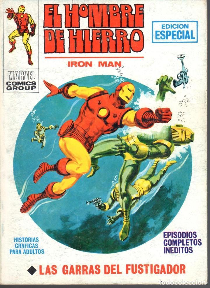 EL HOMBRE DE HIERRO VOLUMEN 1 NUMERO 19. VERTICE. IRON MAN (Tebeos y Comics - Vértice - Hombre de Hierro)