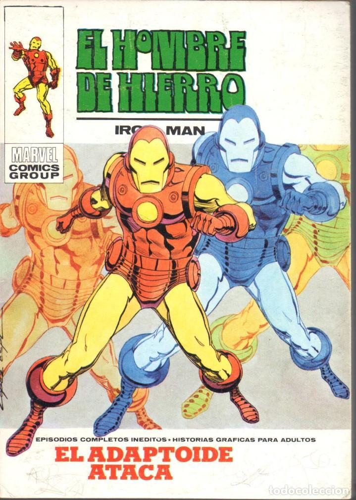 EL HOMBRE DE HIERRO VOLUMEN 1 NUMERO 25. VERTICE. IRON MAN (Tebeos y Comics - Vértice - Hombre de Hierro)