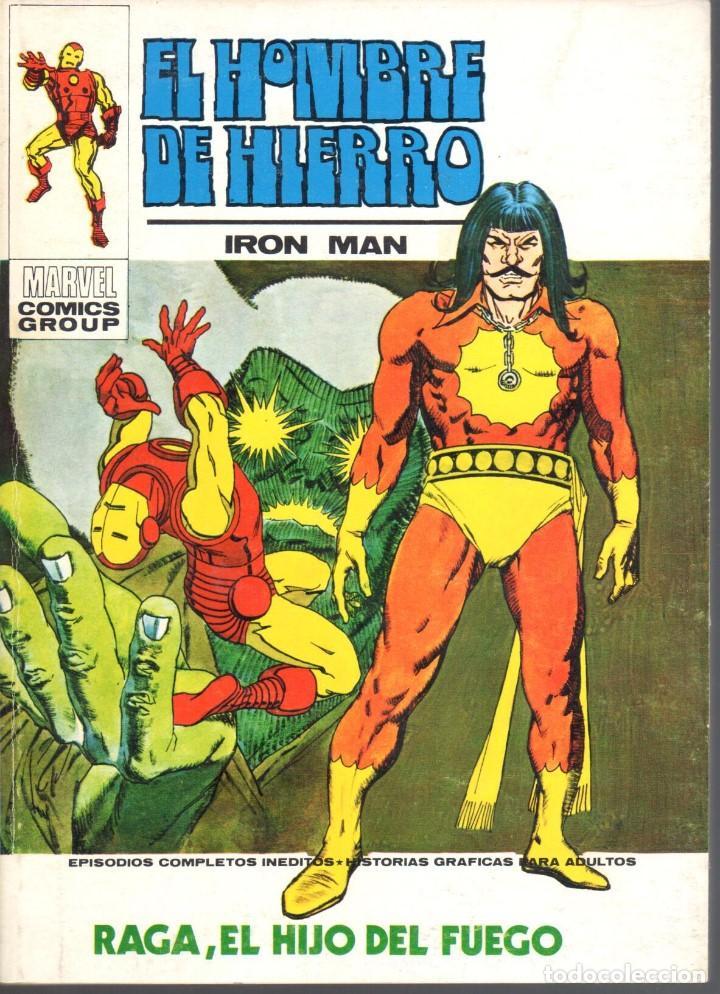 EL HOMBRE DE HIERRO VOLUMEN 1 NUMERO 27. VERTICE. IRON MAN (Tebeos y Comics - Vértice - Hombre de Hierro)