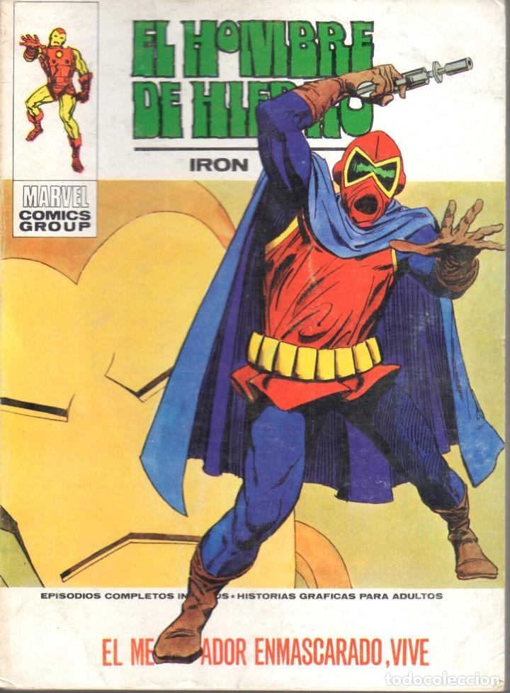 EL HOMBRE DE HIERRO VOLUMEN 1 NUMERO 31. VERTICE. IRON MAN (Tebeos y Comics - Vértice - Hombre de Hierro)