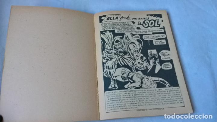Cómics: COMIC vertice: LOS 4 FANTASTICOS Nº 63. ALLA DONDE NO BRILLA EL SOL - Foto 2 - 197483321