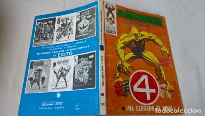 COMIC VERTICE: LOS 4 FANTASTICOS Nº 35. ¡HA LLEGADO EL FINAL! (Tebeos y Comics - Vértice - 4 Fantásticos)
