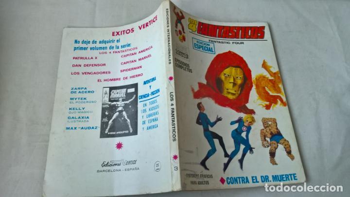 COMIC VERTICE: LOS 4 FANTASTICOS Nº 3. CONTRA EL DOCTOR MUERTE (Tebeos y Comics - Vértice - 4 Fantásticos)