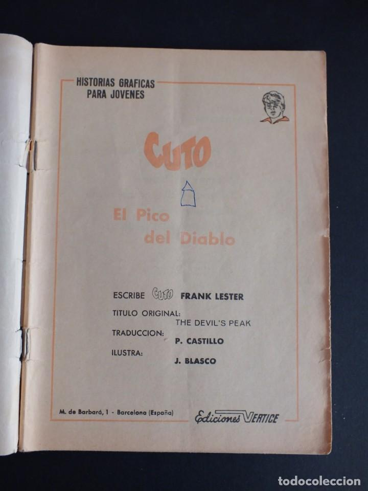 Cómics: CUTO Nº 5 EDITORIAL VERTICE - Foto 2 - 197608752