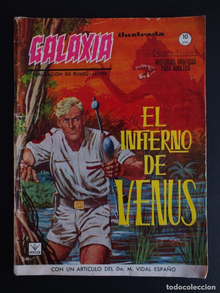 GALAXIA Nº 3 EDITORIAL VERTICE GRAPA (Tebeos y Comics - Vértice - Otros)